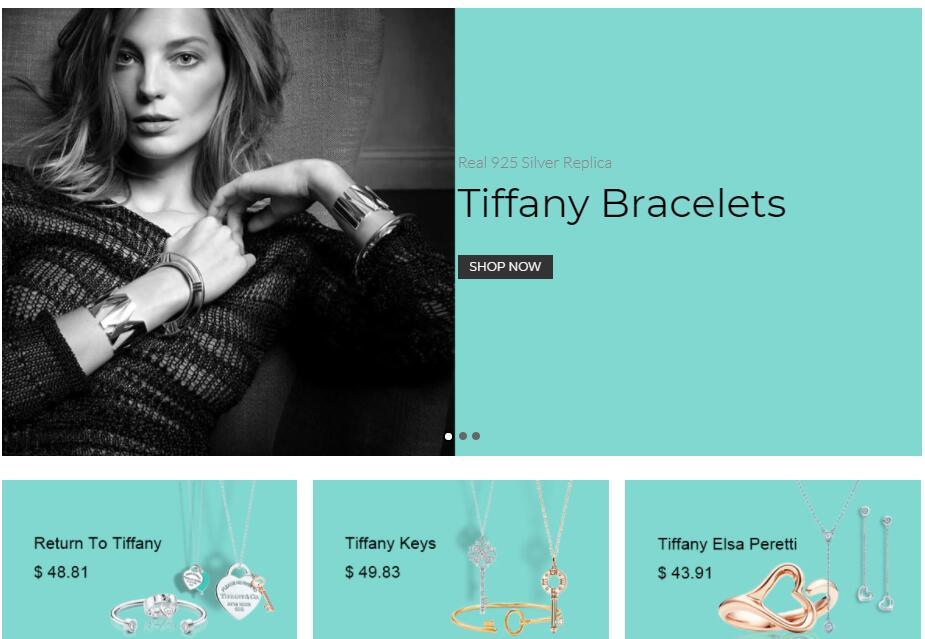 best replica tiffany jewelry sale