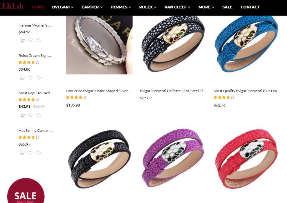 cheap Bvlgari bracelets sale at elog.io