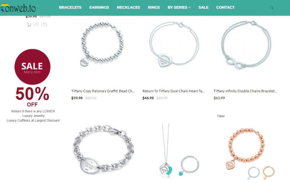 luxury replica Tiffany bracelets sale at online-shop.su