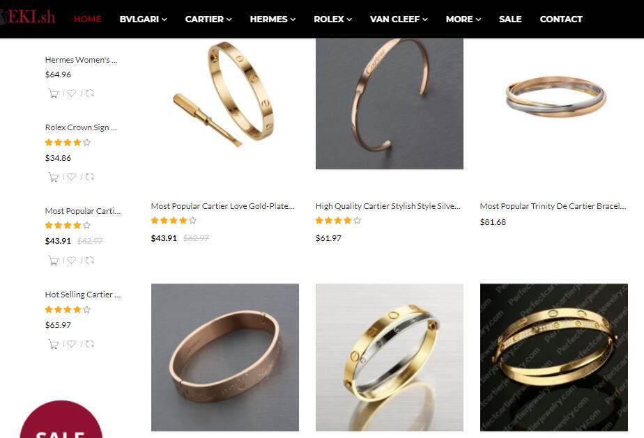 replica Cartier bracelets sale