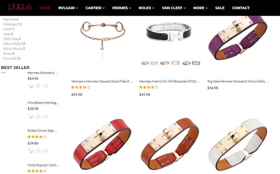 replica Hermes bracelets sale