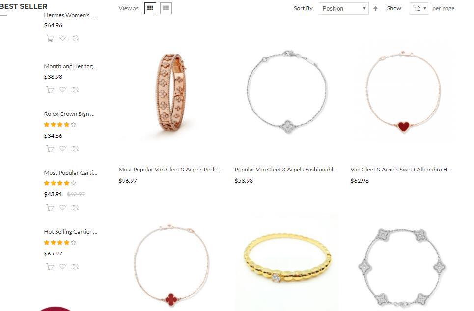 replica vca bracelets sale